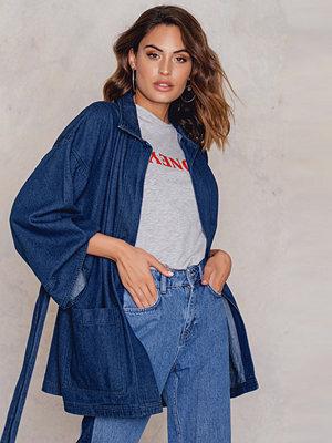 NA-KD Denim Kimono - Jeansjackor