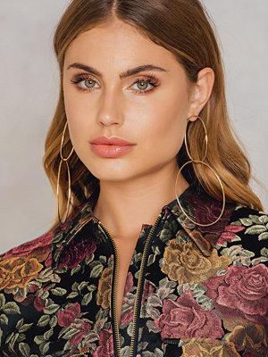 Tranloev Double Ring Earrings - Smycken