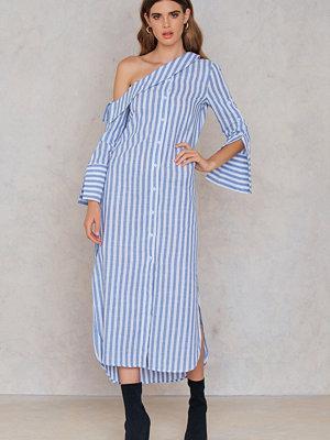 EmmaCloth Asymmetric Shoulder Dress