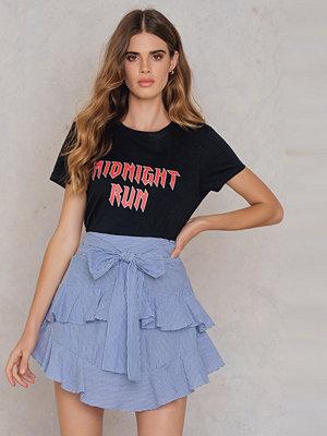 SheIn Self Belt Tiered Skirt