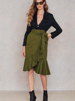 SheIn Self Tie Wrap Skirt