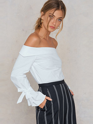 Blusar - Trendyol Off Shoulder Tie Sleeve Blouse
