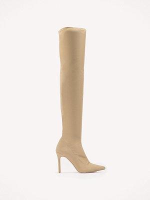 NA-KD Shoes Tight Over Knee Boot - Högklackat