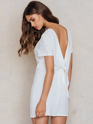NA-KD Deep V Back Dress