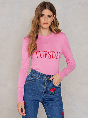 NA-KD Weekday Knitted Sweater rosa