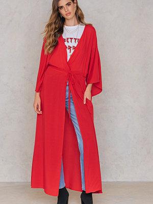 NA-KD Boho Coat Dress