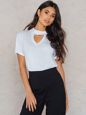 Rut & Circle Judith choker top
