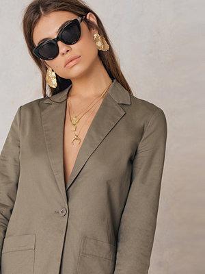 NA-KD Trend Loose Fit Cotton Blazer