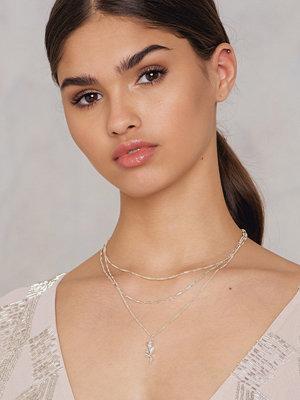Tranloev halsband Layered Rose Necklace