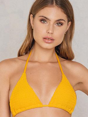 Bikini - Hot Anatomy Wrinkled Triangle Bikini Top