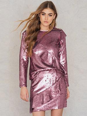 Glamorous Frill Sequin Skirt