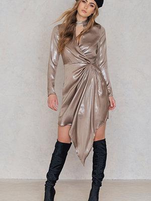 Glamorous Shimmer Frill Dress