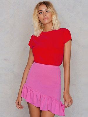 Boohoo Ruffle Mini Skirt