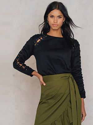 Glamorous Sleeve Detail Sweatshirt