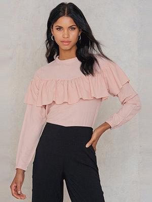 Rut & Circle Evelyn frill blouse