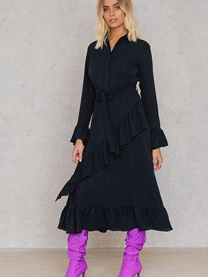 Trendyol Ruffle Shirt Dress