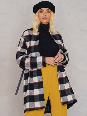 Trendyol Checked Wide Coat