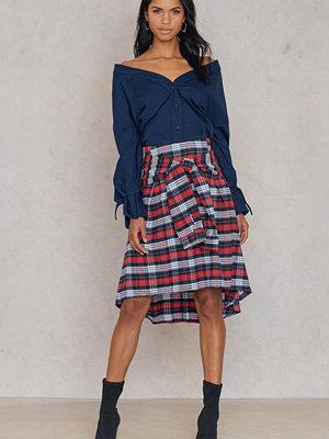 Trendyol Tie Front Frill Skirt