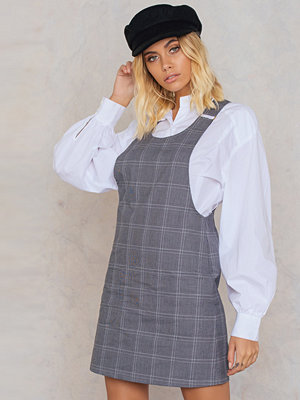 Trendyol Checked Overall Dress
