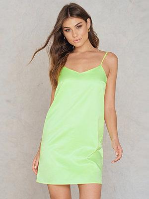 NA-KD Trend Neon Slip Dress
