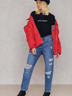 Trendyol Ripped Boyfriend Jeans