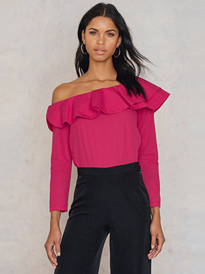 Trendyol One Shoulder Frill Top