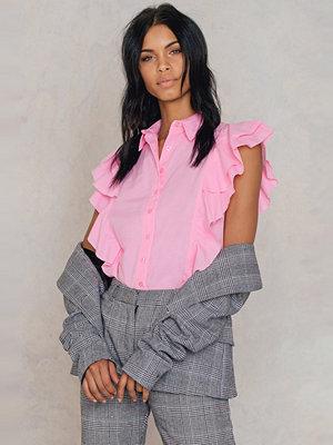 Trendyol Frill Shirt Top