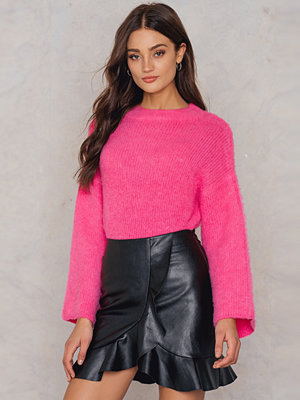 Boohoo Ruffle Wrap Front Skirt