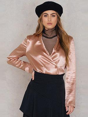 NA-KD Trend Metallic Blazer