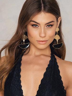 NA-KD Accessories smycke Sunfeather Drop Earrings
