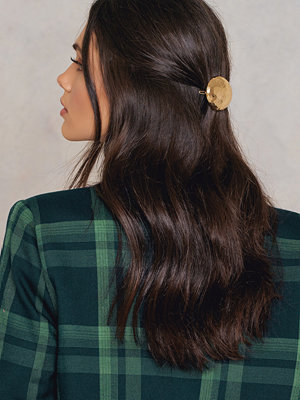 NA-KD Accessories smycke Round Stone Hair Clip