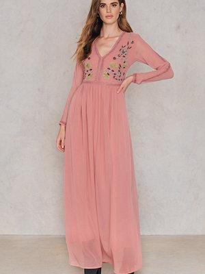 Glamorous Embroidery Maxi Dress