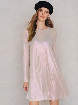Glamorous Long Sleeve Swing Dress