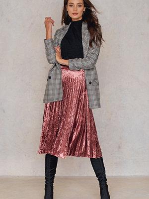 Glamorous Velvet Pleated Skirt
