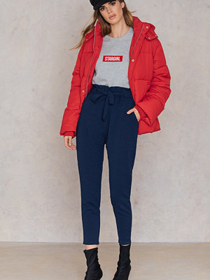 Evaliah Grace marinblå byxor High Waist London Pants