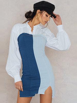 SheIn Frayed Hem Denim Dress