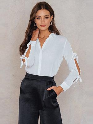 Minkpink Tie Sleeve Shirt