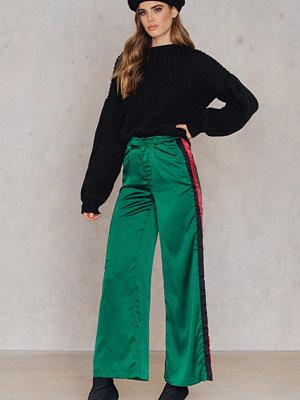 SheIn gröna byxor Wide Leg Pants