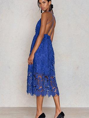 NA-KD Boho Crochet Strap Back Dress