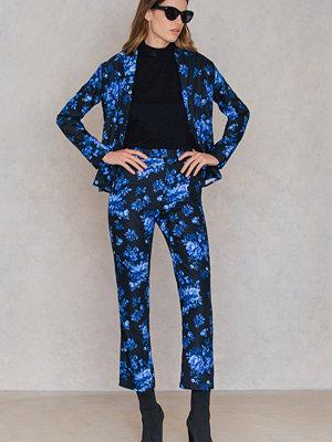 FAYT svarta byxor med tryck Porter Pants