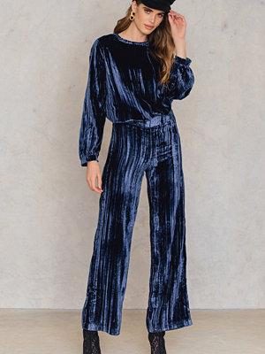 Twist & Tango marinblå byxor Meg Velvet Trousers