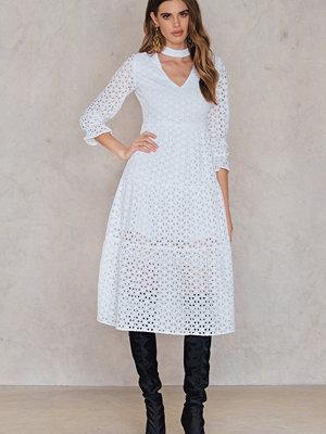 English Factory Ruffled Sleeve Dress