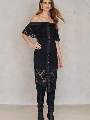 Keepsake Star Crossed Lace Midi Dress