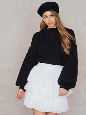 English Factory Ruffled Mini Skirt