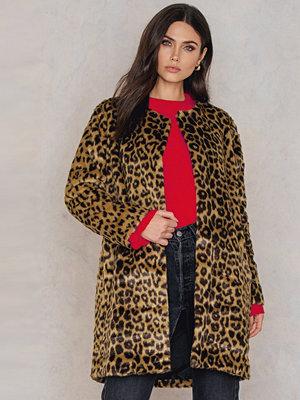 Just Female Leo Fake Fur Coat