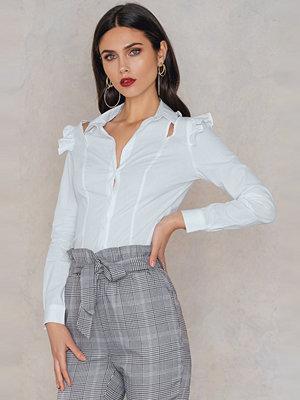 Trendyol Open Cut Frill Shirt