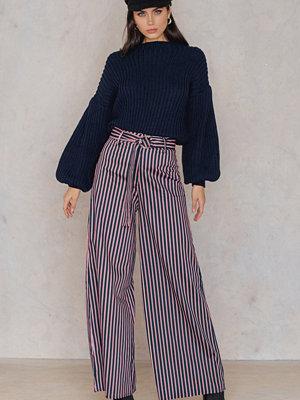 Trendyol randiga byxor Stripe Flare Pants