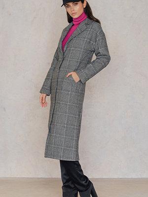Trendyol Checked Collar Coat