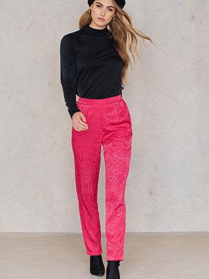 Saint Tropez rosa byxor Leo Jaquard Pants