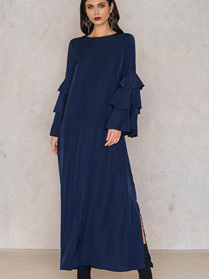 SheIn Bell Sleeve Kaftan Dress